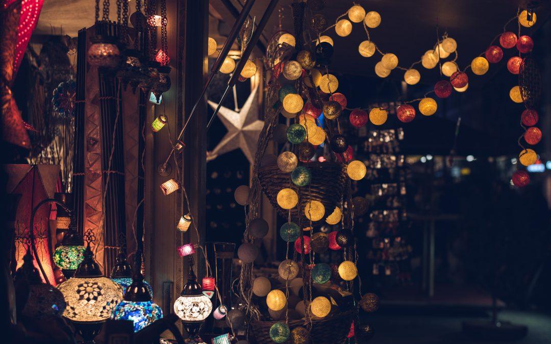 Härlig julbelysning