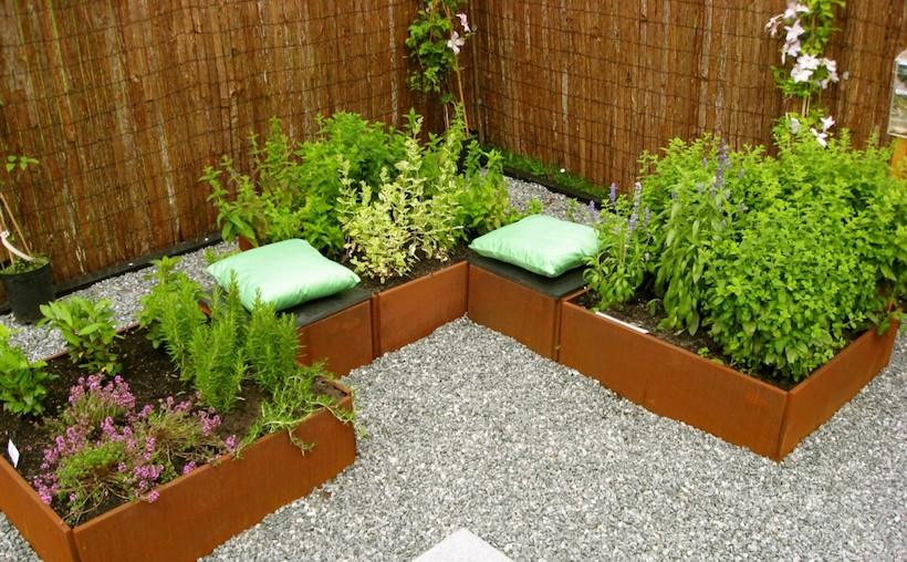 Odlingslådor för trädgård
